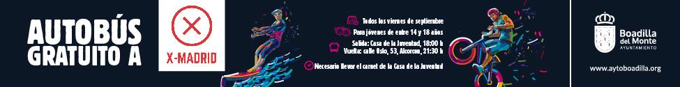 autobús gratuito Boadilla X Madrid sept 2021 formato 2